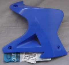 Genuine Polini XP4 Minicross RH Fuel Tank Duct Cover Panel Blue 144.804.017