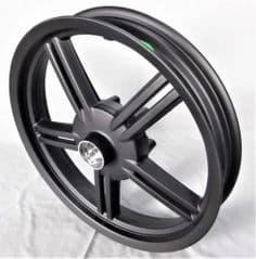 Kymco Agility City 50 / 125 Front Wheel - Matt Black 44601-LFC2-E10-NEA
