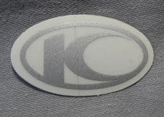 Kymco Decal 45mm Silver 86102-LEJ2-E00-T01