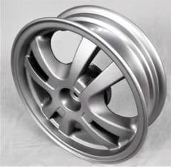 Kymco Like 50 Rear Wheel - Matt Silver 42601-LGR3-E10-HUA