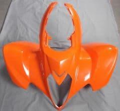 Kymco Maxxer 300 Front Fender Panel - Orange 60100-LDF3-E01-YUR