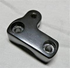 Kymco Maxxer 50 RH Upper Handlebar Clamp - Black 53130-LBD4-900
