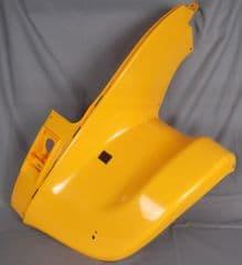 Kymco MXER 50 150 LH Front Mudguard Panel - Yellow 61300-LLB1-E00-YNR