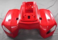 Kymco MXU 50 / 150 Rear Mudguard - Red 80100-LCA4-E00-E4R