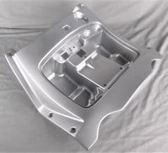 Kymco People 125S Front Inner Panel - Bright Silver 81131-LCD3-E01-N8P