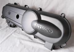 Kymco People Super 8 50 2T Drive Belt Cover - Black 11341-KFA6-900-NEA