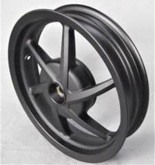 Kymco Super 8 50 / 125 Rear Wheel - Matt Black 42601-LEJ2-E10-NEA
