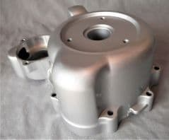 Kymco  Zing LH Engine Cover - Silver 11341-KEC2-900-NJA
