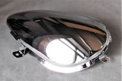 Kymco  Zing RH Sidepanel Insert - Chrome 83541-LGH3-E00-F1S