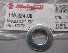 Malaguti Centro Ciak Fire Fox Madison  Phantom Rear Wheel Axle Washer 119.224.00