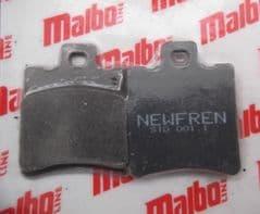 Malaguti  Ciak F10 F12 F15 Yesterday Malbo-Line Brake Pads By Newfren 119.502.00