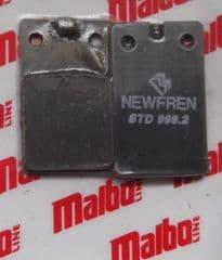 Malaguti  Crosser 50 F12 Malbo-Line Brake Pads By Newfren 119.334.00