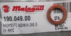 Malaguti Madison Phantom Max Coolant Temperature Sensor Gasket Washer 190.049.00
