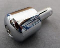 MASH Black Seven Handlebar End Weight - Chrome 1139900014000