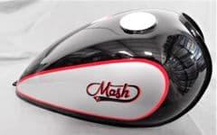 MASH Dirt Track  125 / 250 Fuel Tank - Black 1241400301447