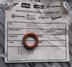 Moto Guzzi Copper Washer 10.5X16X2.5  486075
