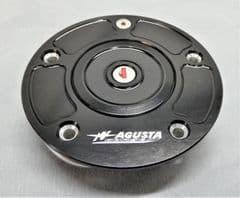 MV Agusta B4 / F4 Ergal Fuel Cap with Key - Black SPTSA009BF