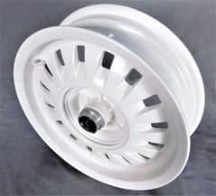 Peugeot Django Front Wheel (2nd. Quality) - White PE786905P7Q