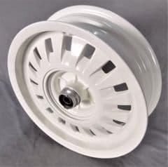 Peugeot Django Front Wheel - White PE786905P7