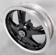 Peugeot Kisbee Front Wheel - Black PE781019N