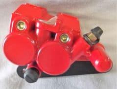 Peugeot Vox Front Brake Caliper - Red PE802575