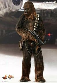 Star Wars Hot Toys Chewbacca A New Hope 1/6 Figure MMS262 Brand New