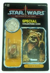 Star Wars Power of the Force Wicket the Ewok Mint on Card
