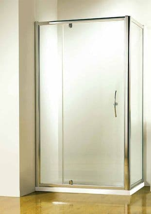Kudos 1200mm Silver Pivot Door