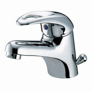 Bristan Java Basin Mixer with Side Action Pop-up Waste