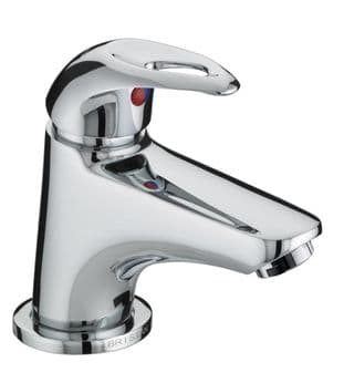 Bristan Java Miniature Basin Mixer with Clicker Waste