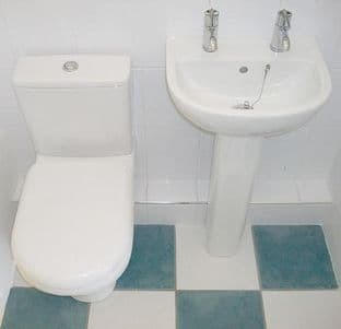 Compact Complete Cloakroom Set