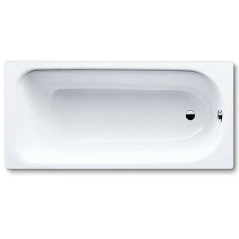Contract single ended bath 1500 x 700mm twin grip with anti-slip (2TH) 63.KB15TGASW