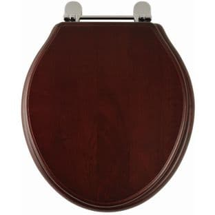 Greenwich (Mahogany finish) Toilet Seat