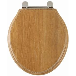 Greenwich (Solid limed oak) Toilet Seat