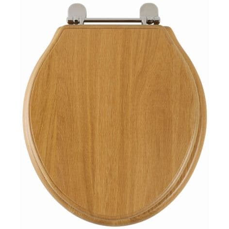 Greenwich (Solid natural oak) Toilet Seat 8099NO