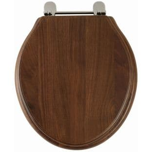 Greenwich (Solid walnut) Toilet Seat