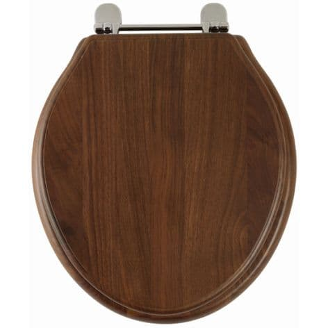 Greenwich (Solid walnut) Toilet Seat 8099AW