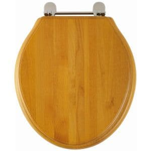 Greenwich Toilet Seat (Antique pine finish) 8099A