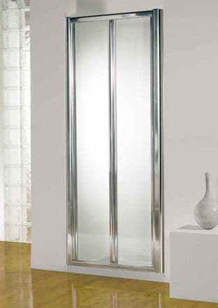 Kudos 900mm Silver Bi-Fold Door