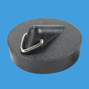 "McAlpine BP3T 1 1/2"" Black PVC Plug with Triangle"