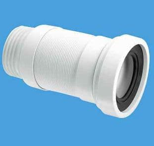 McAlpine WC-F18S Flexible WC Connector 3 1/2 Outlet