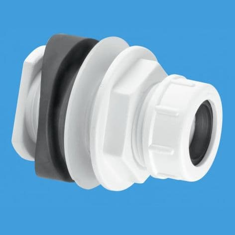 Mechanical soil and rainwater pipe boss connector BOSSCONN-22MM