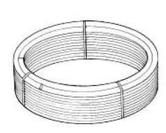 PB15015B Polypipe Solid, Floating and suspended floors barrier polybutylene pipe coils 15mm x 150m