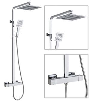 TB - Premium Square Shower Kit
