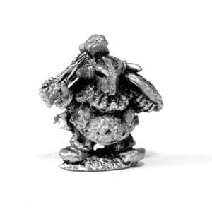 Chaos Dwarf Hero with Axe and Shield A