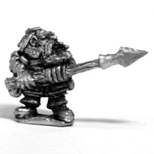 Dwarf Fighter with Spear B