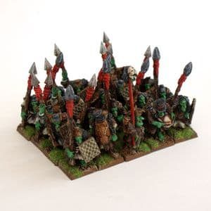Hobgoblin Spearmen x20 with Command