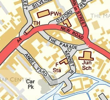 Build Your Own Ordnance Survey Street Map - Various Scales