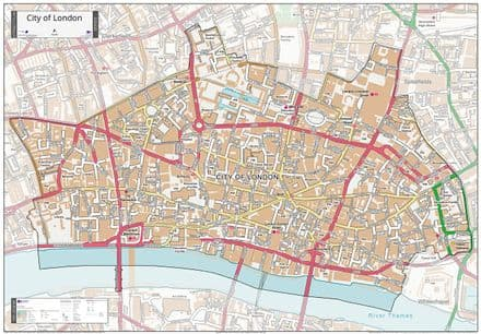 City of London - Street Map