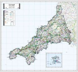 County Maps of England 2021
